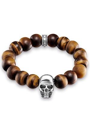 Thomas Sabo Męska srebrna elastyczna bransoletka - A1576-826-2-L19.5
