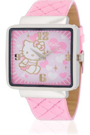 Hello Kitty Dziewczęcy zegarek na rękę Kami analogowy kwarcowy sztuczna skóra HK9010-535