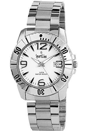 Sportline Męski analogowy zegarek kwarcowy z różnymi materiałami bransoletka 28152200006