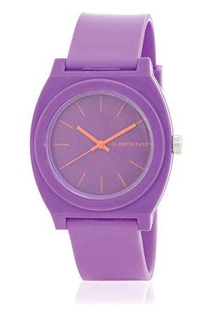 Dunlop Unisex Dorośli analogowy zegarek kwarcowy z plastikową bransoletką DUN183L09
