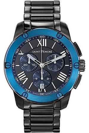 Saint Honore Męski analogowy zegarek kwarcowy z paskiem ze stali nierdzewnej 88613377NDRAN