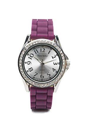 Alain Miller Męski analogowy zegarek kwarcowy z silikonową bransoletką RP60000001