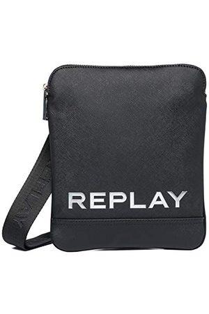 Replay Męska torba na ramię, UNIC Fm3488, - 098 BLACK - UNIC
