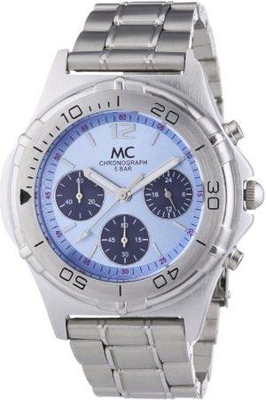 MC Męski zegarek na rękę chronograf kwarcowy metalowy pasek 24840