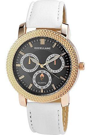Excellanc Unisex zegarek na rękę analogowy kwarcowy sztuczna skóra 295011000150