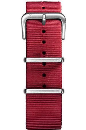 Oxygen Unisex czerwona nylonowa klamra przypinka 22 cm
