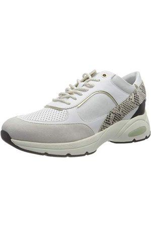 Geox Damskie buty typu sneaker D Alhour A, White Off White - 35 EU