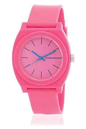 Dunlop Unisex dorosły analogowy zegarek kwarcowy z plastikowym paskiem DUN183L05