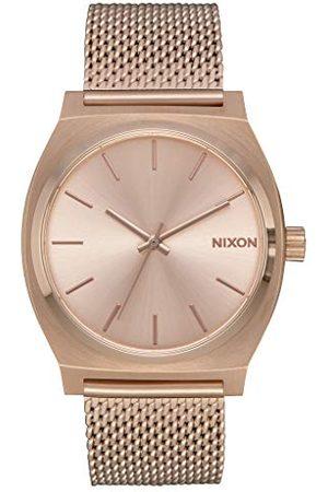 Nixon Unisex analogowy zegarek kwarcowy z paskiem ze stali nierdzewnej A1187-897-00