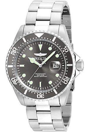Invicta 22050 Pro nurek męski zegarek na rękę ze stali nierdzewnej kwarcowy szary tarcza