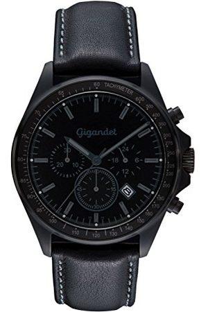Gigandet Mężczyzna Zegarki - Zegarek męski chronograf mechanizm kwarcowy analogowy ze skórzanym paskiem Volante G3-005
