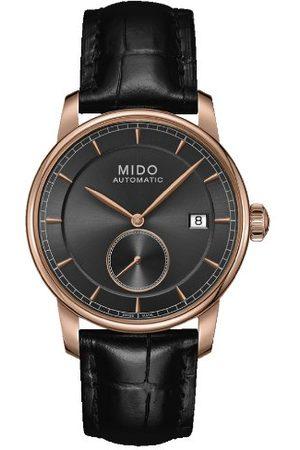 MIDO Męski analogowy automatyczny zegarek ze skórzanym paskiem M86083134