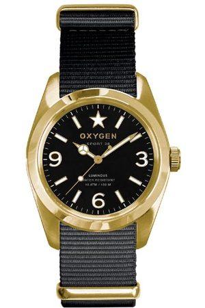 Oxygen Unisex Zegarek na rękę Lingot 38 analogowy kwarcowy nylon EX-S-LIN-38-NN-BL
