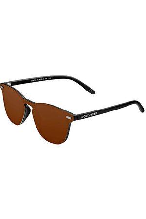 Northweek Unisex Wall Phantom Arica okulary przeciwsłoneczne dla dorosłych, pomarańczowe (Ambar), 140.0