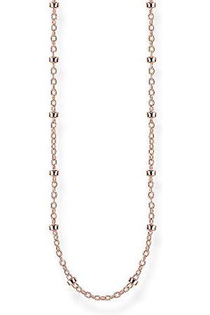 Thomas Sabo KE1890-415-40-L60 łańcuszek groszkowy, srebro wysokiej próby 925, pozłacane różowym złotem, uniseks