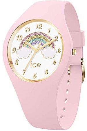 Ice-Watch ICE fantasia Rainbow pink - różowy zegarek damski z silikonowym paskiem - 017890 (Small)