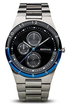 Bering Męski zegarek na rękę analogowy kwarcowy stal szlachetna 32339-702