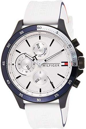 Tommy Hilfiger Męski analogowy zegarek kwarcowy z silikonowym paskiem 1791723