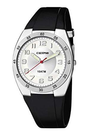 Calypso Męski analogowy zegarek kwarcowy z plastikową bransoletką K5753/4