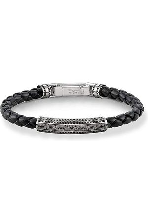 Thomas Sabo Męska bransoletka linowa 925 srebro szterlingowe A1407-805-11-L21
