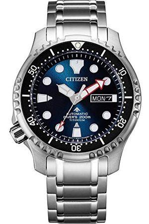 Citizen Męski Promaster morski analogowy zegarek automatyczny NY0100-50ME