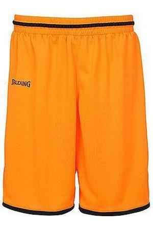 Spalding Męskie spodenki 300514012_S, pomarańczowe, czarne, S