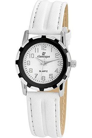Classique Męski analogowy zegarek kwarcowy ze skórzanym paskiem RP355220001