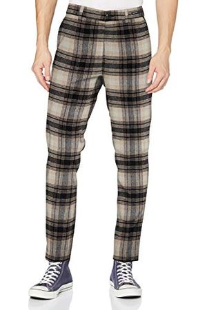 Scotch&Soda Męskie spodnie Stuart-Chino Regular Slim Fit, mieszanka wełny