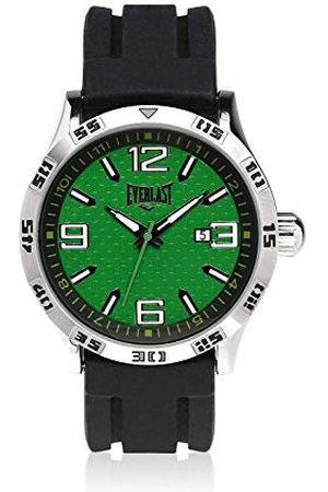 Everlast Uniseks dla dorosłych analogowy zegarek kwarcowy z silikonowym paskiem EVER33-210-001