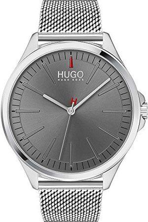 HUGO BOSS Męski analogowy zegarek kwarcowy z paskiem ze stali nierdzewnej 1530135