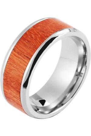 Shaghafi 00149506601 męski pierścionek ze stali nierdzewnej e stal szlachetna, 66 (21,0), colore: srebro, cod. 001495066011