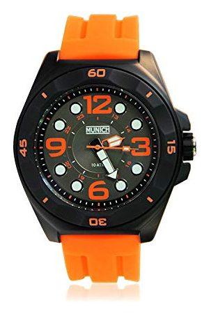 Munich Unisex dla dorosłych analogowy kwarcowy zegarek z silikonową bransoletką MU+112,4A