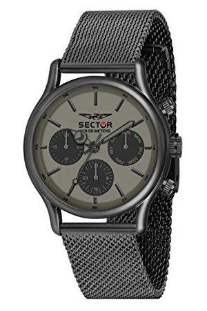 Sector No Limits męski analogowy zegarek kwarcowy z bransoletką ze stali szlachetnej R3253517014