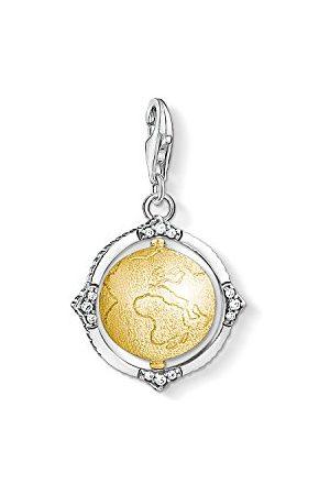 Thomas Sabo Uniseks zawieszka charm vintage kula ziemska srebro 925 wysokiej próby 1711-849-39
