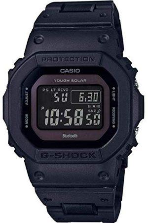Casio Męski cyfrowy zegarek kwarcowy z bransoletką z żywicy GW-B5600BC-1BER