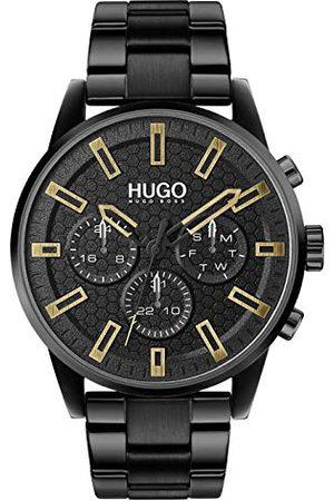 HUGO BOSS Męski analogowy zegarek kwarcowy z bransoletką ze stali szlachetnej 1530177