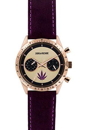 Zadig & Voltaire Zegarki - Unisex zegarek analogowy ZVM110