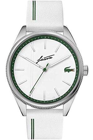 Lacoste Męski analogowy zegarek kwarcowy ze skórzanym paskiem 2011050