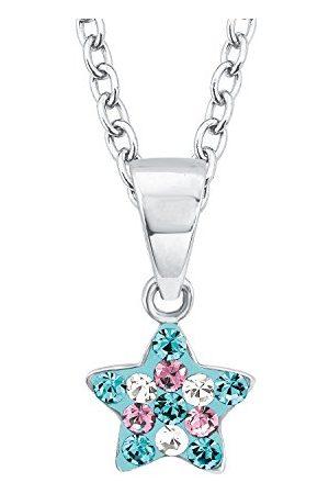 Prinzessin Lillifee Preciosa łańcuszek z wisiorkiem w kształcie gwiazdy, srebro wysokiej próby 925, rodowane
