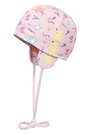Döll Czapka dziewczęca czapka do wiązania Jersey 1812176603, różowa (Pink Lady 2720), 39
