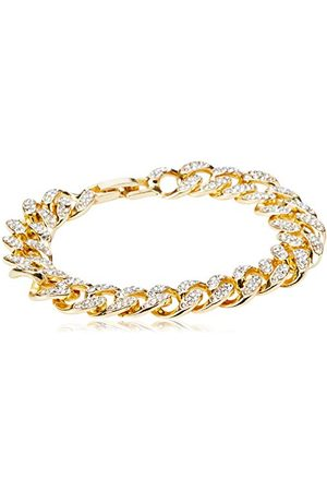 Urban classics Unisex Diamond Bracelet spinki do mankietów, złoty, L/XL