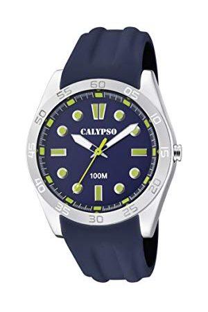 Calypso Calypso zegarki unisex dorosły analogowy klasyczny zegarek kwarcowy z plastikowym paskiem K5763/6