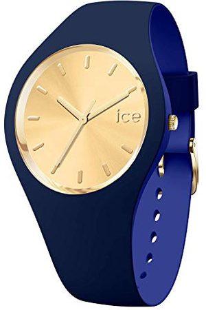 Ice-Watch ICE duo chic granatowy - damski zegarek na rękę z paskiem silikonowym - 016986 (średni)