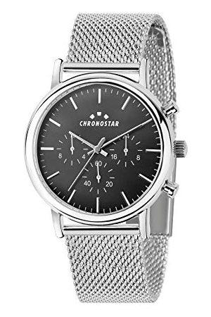 Chronostar Męski multicyferblat kwarcowy zegarek z bransoletką ze stali szlachetnej R3753276002