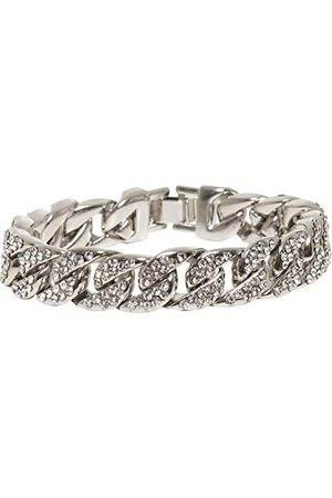 Urban classics Unisex Big Bracelet With Stones inteligentna bransoletka, srebrna, L/XL