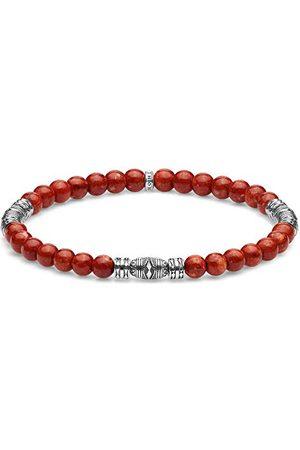 Thomas Sabo Bransoletka uniseks talizman czerwona 925 srebro szterlingowe A1927-062-10-L17