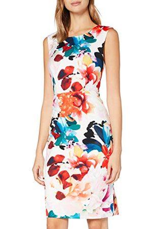 Gina Bacconi Damska sukienka koktajlowa z kwiatowym wzorem Salma