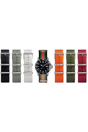 Oxygen Unisex zegarek na rękę analogowy kwarcowy nylon EX-D-MOB-40-LE