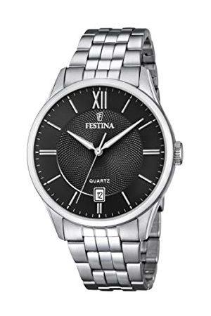 Festina Męski analogowy zegarek kwarcowy z bransoletką ze stali szlachetnej F20425/3
