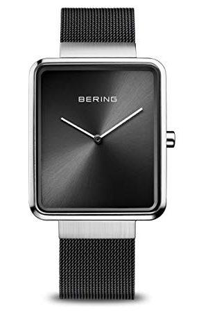 Bering Męski analogowy zegarek kwarcowy z bransoletką ze stali szlachetnej 14533-102